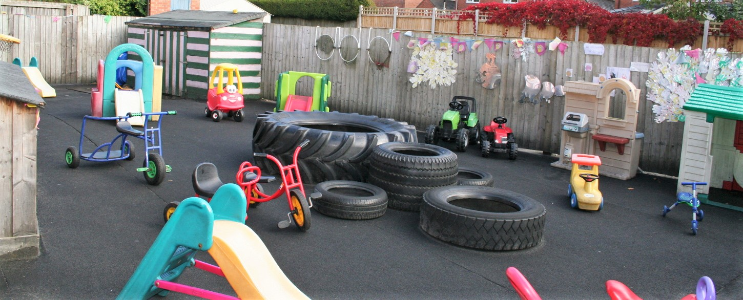 St lawrences Private Day Nursery Playground